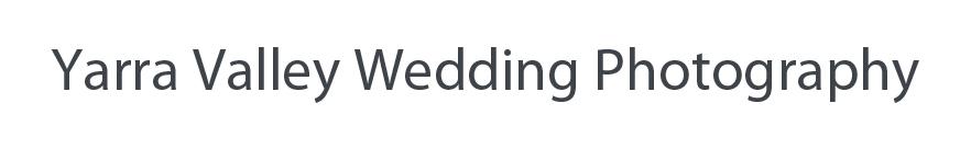 Yarra Valley Wedding Photography logo